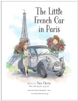 The Little French Car in Paris book cover