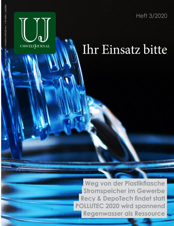 View Umwelt Journal 3/2020 by HJS Media World