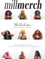 Mill Merch Magazine: The Black Issue book cover