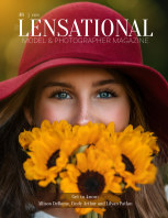 LENSATIONAL Model and Photographer Magazine #48 Issue | Eyes - July 2020 book cover