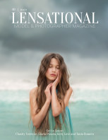 LENSATIONAL Model and Photographer Magazine #49 Issue | Beach - July 2020 book cover