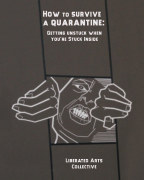 HOW TO SURVIVE A QUARANTINE: Getting Unstuck When You're Stuck Inside book cover