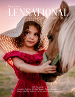 LENSATIONAL Model and Photographer Magazine #50 Issue | Portrait - July 2020 book cover