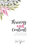Thriving and Content book cover