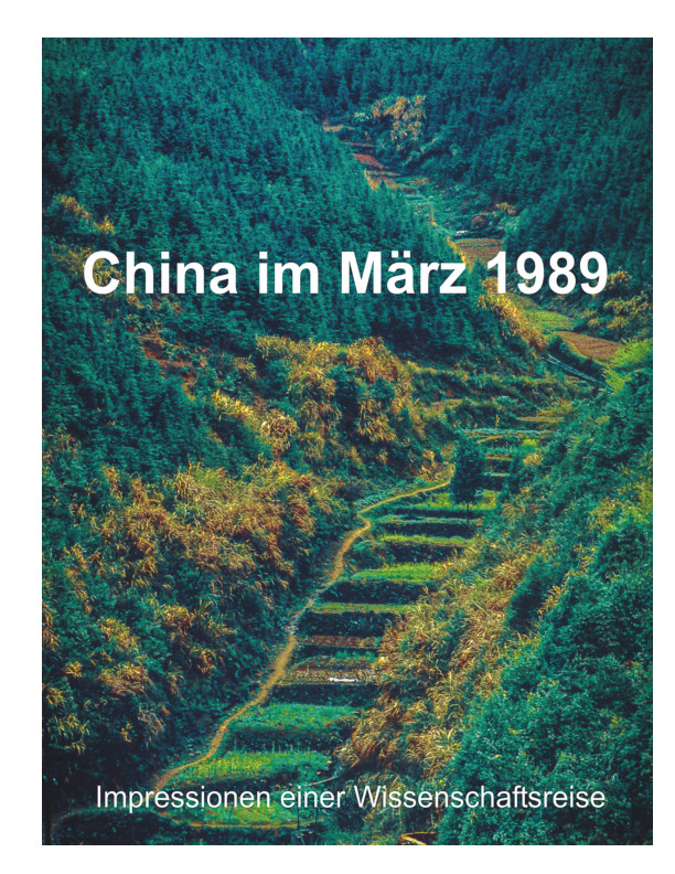 View China m März 1989 by Wolfgang Ahlf