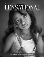 LENSATIONAL Model and Photographer Magazine #51 Issue | Black and White - July 2020 book cover
