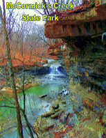 McCormick's Creek State Park book cover