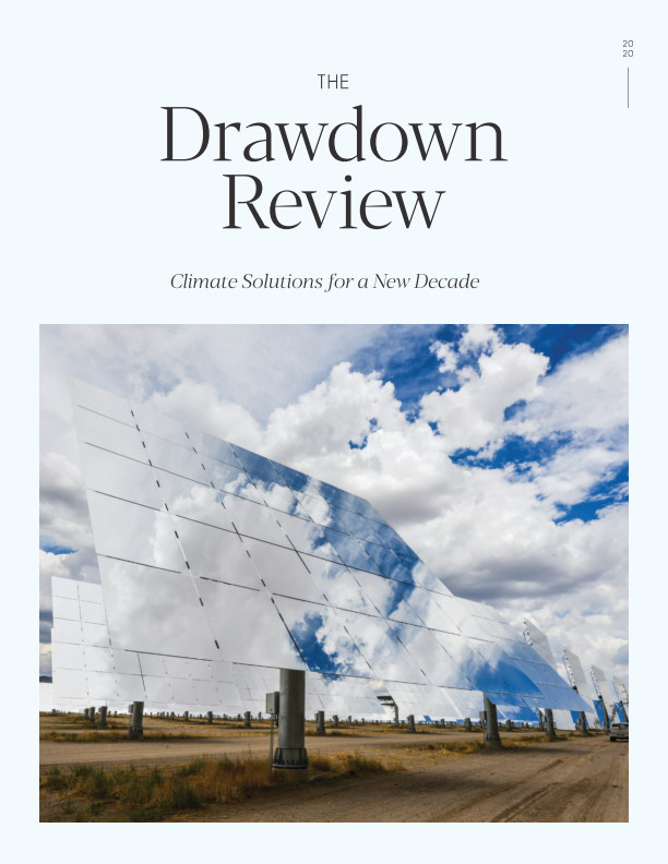 View The Drawdown Review by Project Drawdown