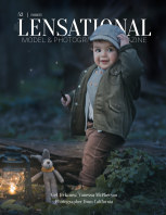 LENSATIONAL Model and Photographer Magazine #52 Issue | Forest - August 2020 book cover