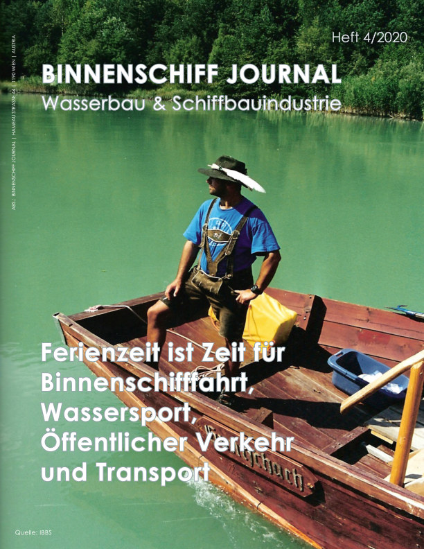 View Binnenschiff Journal 4/2020 by HJS Media World