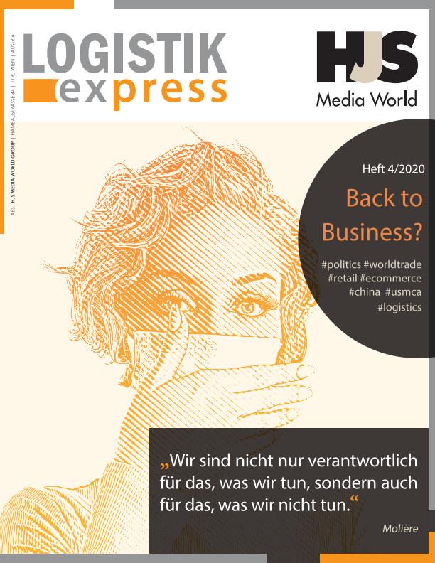LOGISTIK express Journal 4/2020 nach HJS Media World anzeigen