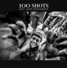 100 shots Matt Landy Photography 2nd Edition Deluxe book cover