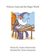 Princess Anna and the Magic World book cover