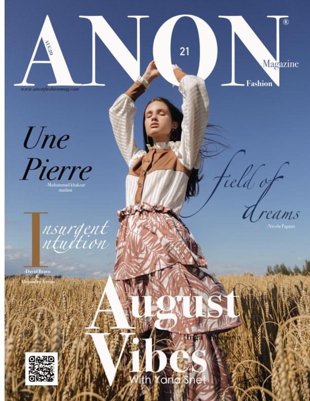 View ANON AUG20 Vol. I by ANON Magazine