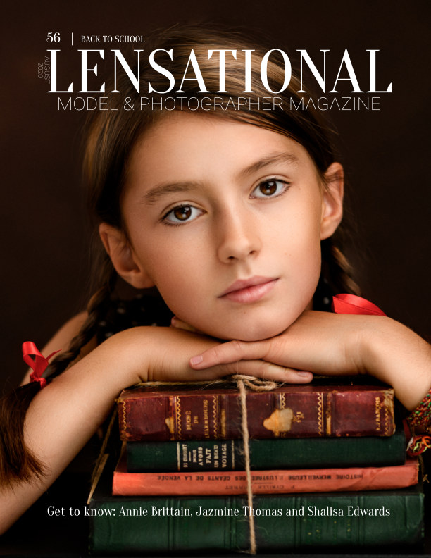 View LENSATIONAL Model and Photographer Magazine #56 Issue   Back to school - August 2020 by Lensational Magazine