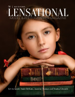 LENSATIONAL Model and Photographer Magazine #56 Issue | Back to school - August 2020 book cover