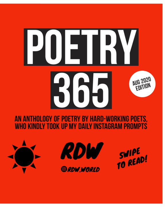 View Poetry 365 - August 2020 Edition by RDW