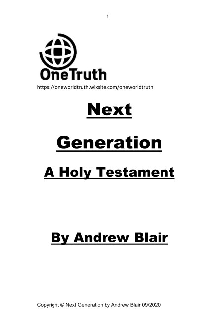 View Next Generation by Andrew Blair