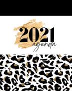 Planner (Arbonne) - 2021 (Leopard) book cover