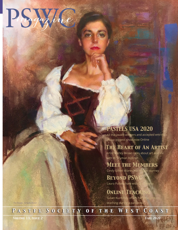 View PSWC Magazine FALL 2020 by Pastel Society of West Coast