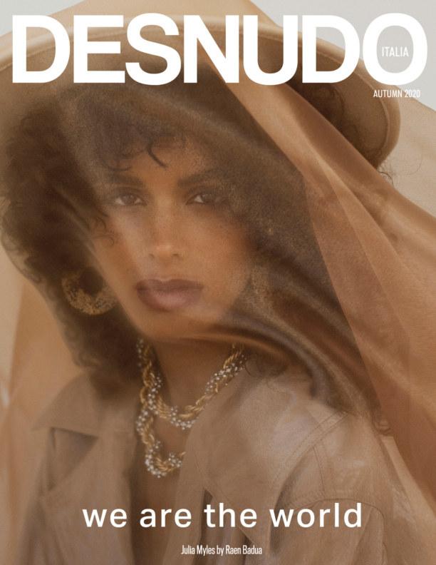 View Desnudo Magazine Italia Issue 8 - Julia Myles Cover by Desnudo Magazine Italia