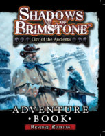 Shadows of Brimstone City of Ancients Adventure Book Revised book cover