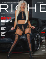 Riche Magazine October 2020 book cover