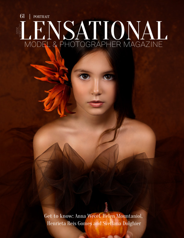 View LENSATIONAL Model and Photographer Magazine #61 Issue | Portrait - October 2020 by Lensational Magazine