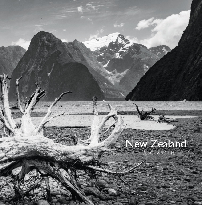 View NEW ZEALAND In Black and White by Rob Watkins