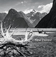 NEW ZEALAND In Black and White book cover