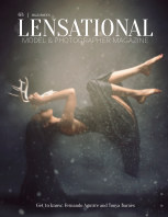 LENSATIONAL Model and Photographer Magazine #63 Issue | Halloween - October 2020 book cover