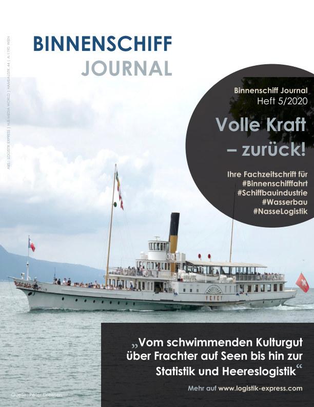 View Binnenschiff Journal 5/2020 by HJS Media World