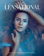 LENSATIONAL Model and Photographer Magazine #65 Issue | Water - October 2020 book cover
