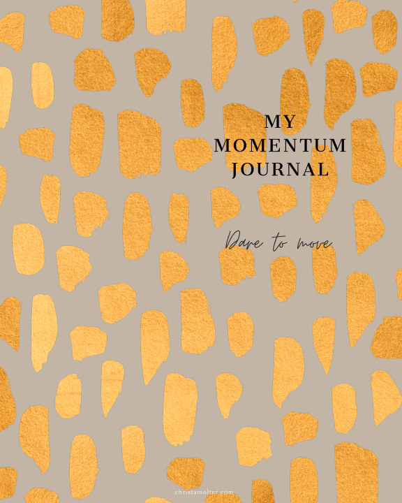 View Momentum Journal by Christa Molter