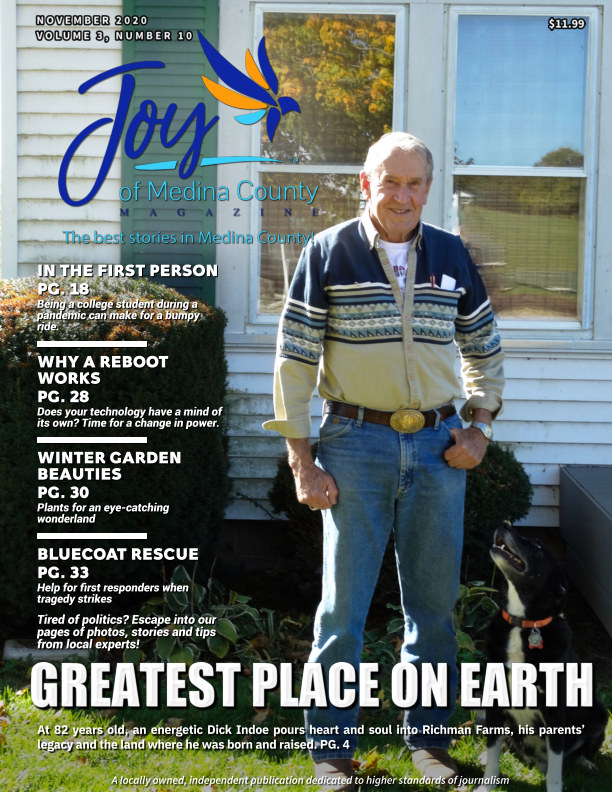 Joy of Medina County Magazine November 2020 nach Blake House Publishing, LLC anzeigen