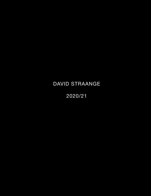 View David Straange 2020/21 by David Repchronus Straange
