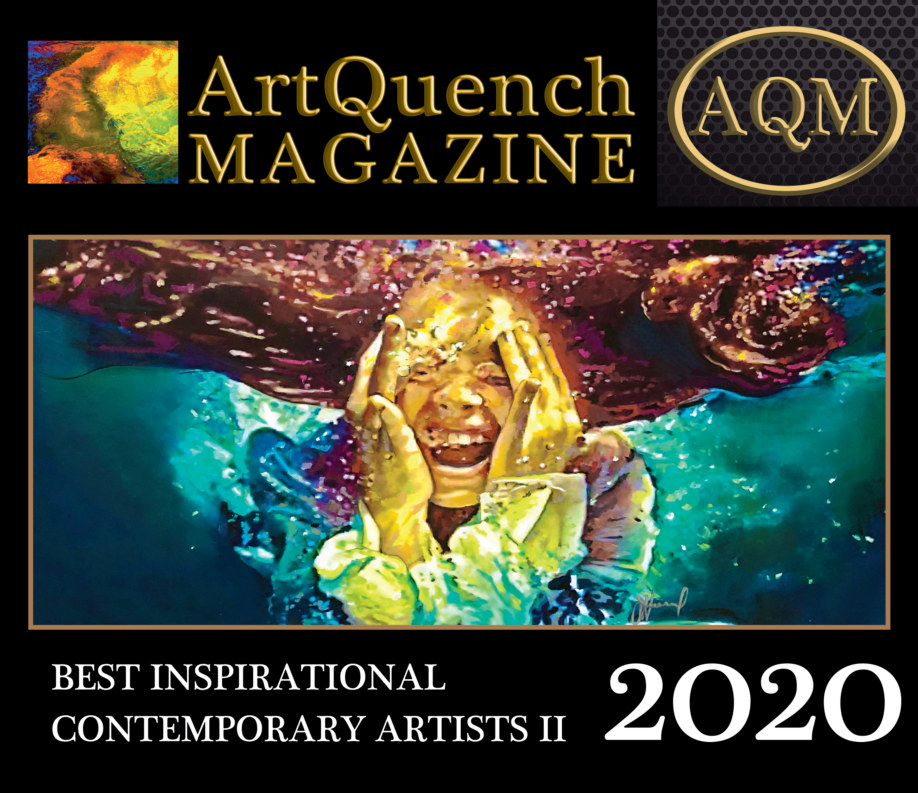 View ArtQuench Magazine Best Inspirational Contemporary Artists II 2020 by Stacia Gates