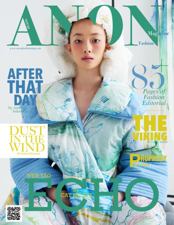 View ANON NOV 20 Issue Vol. II by ANON FASHION MAGAZINE