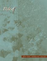 Flyleaf 2020 book cover