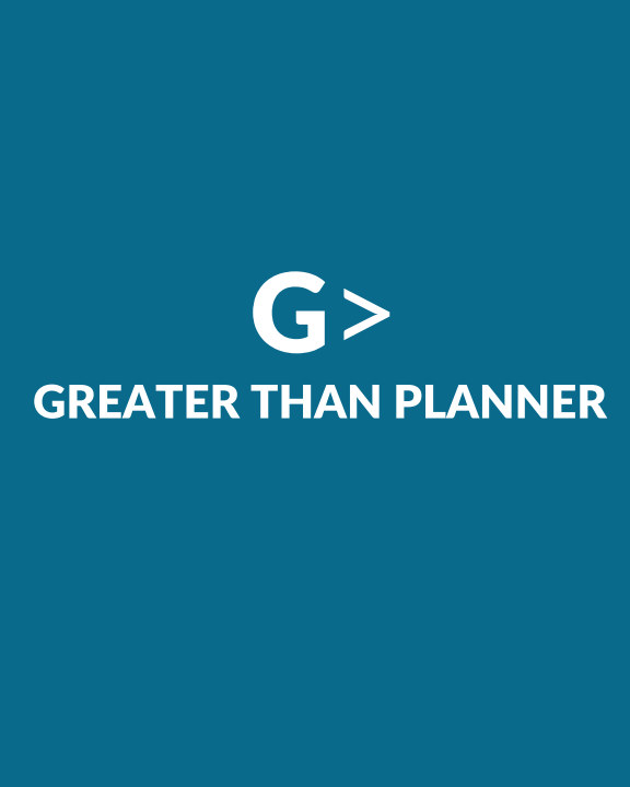 2021 Greater Than Planner: Soft Cover Ocean Blue nach Leslie Lissaint anzeigen