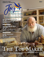 Joy of Medina County Magazine December 2020 book cover
