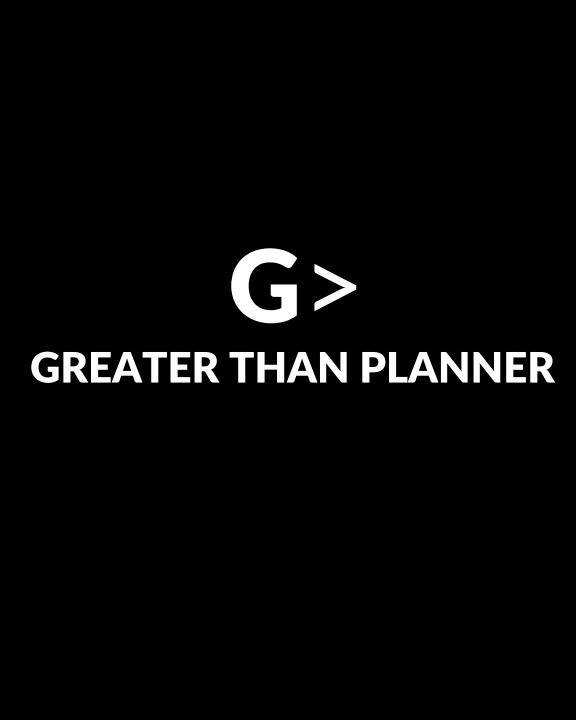 2021 Greater Than Planner: Soft Cover Genesis Black nach Leslie Lissaint anzeigen
