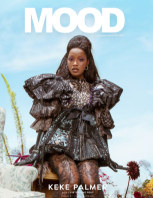 MOOD Magazine AW20 Keke Palmer book cover