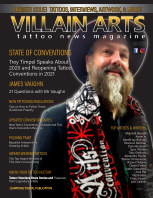Villain Arts Tattoo News Magazine Fall 2020 Issue 1 book cover