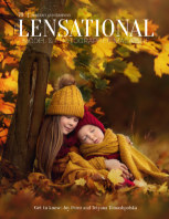 LENSATIONAL Model and Photographer Magazine #70 Issue | Portrait and Emotions - November 2020 book cover