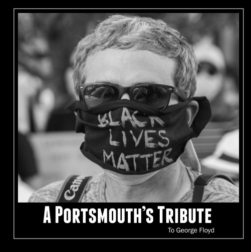 View A Portsmouth's Tribute To George Floyd by Julien Kouame