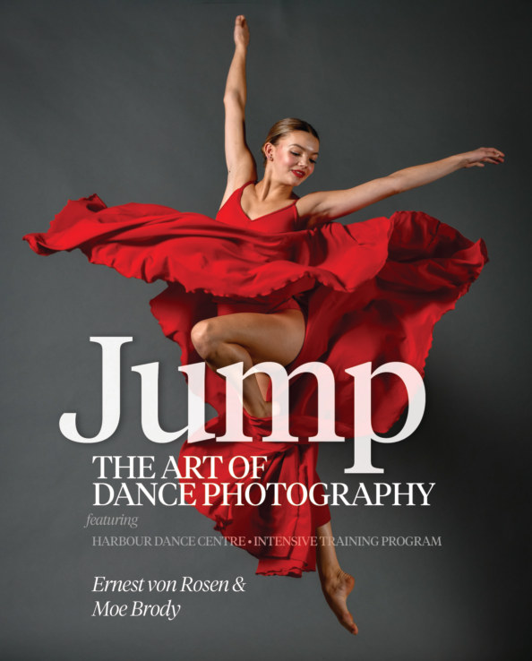 View Jump: The Art of Dance Photography by Ernest von Rosen and Moe Brody
