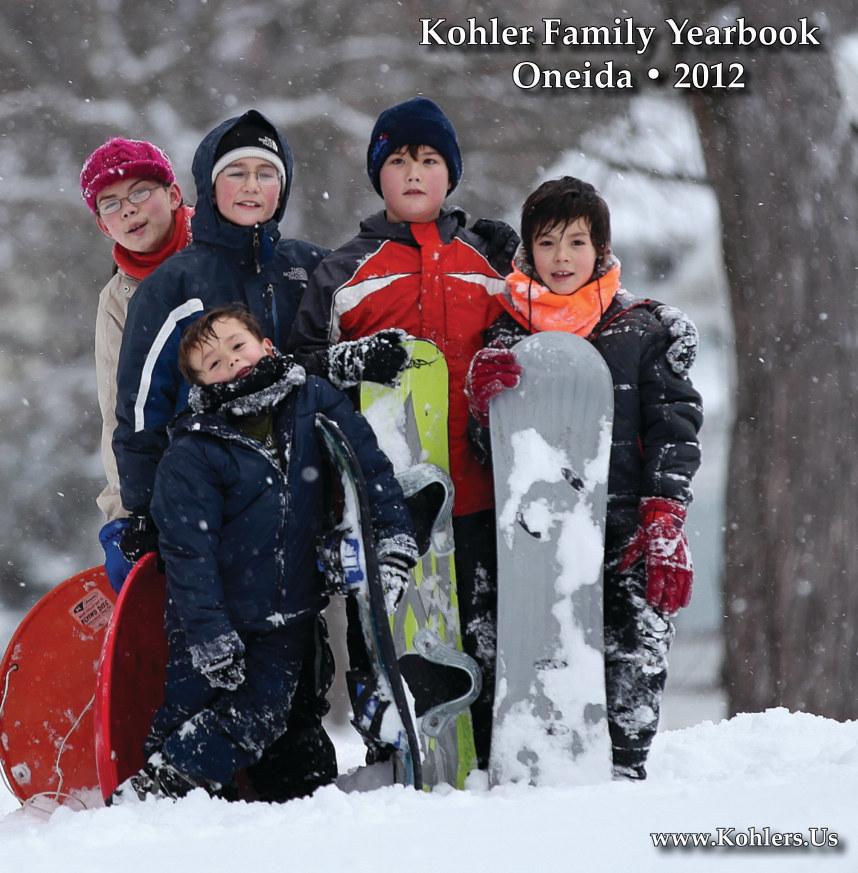 Bekijk 2012 Kohler Family Yearbook op TaleSlinger