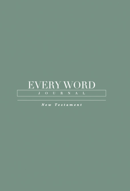 View Every Word Journal New Testament Hardcover by Every Word Collective