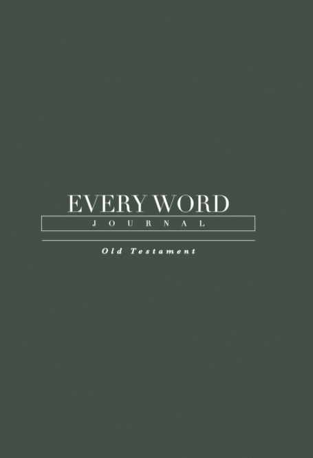 View Every Word Journal Old Testament Hardcover by Every Word Collective